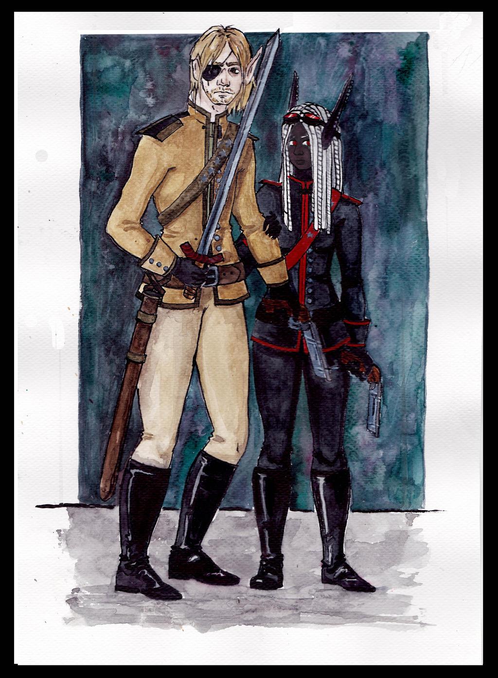 Soldiers by Nirvanangel