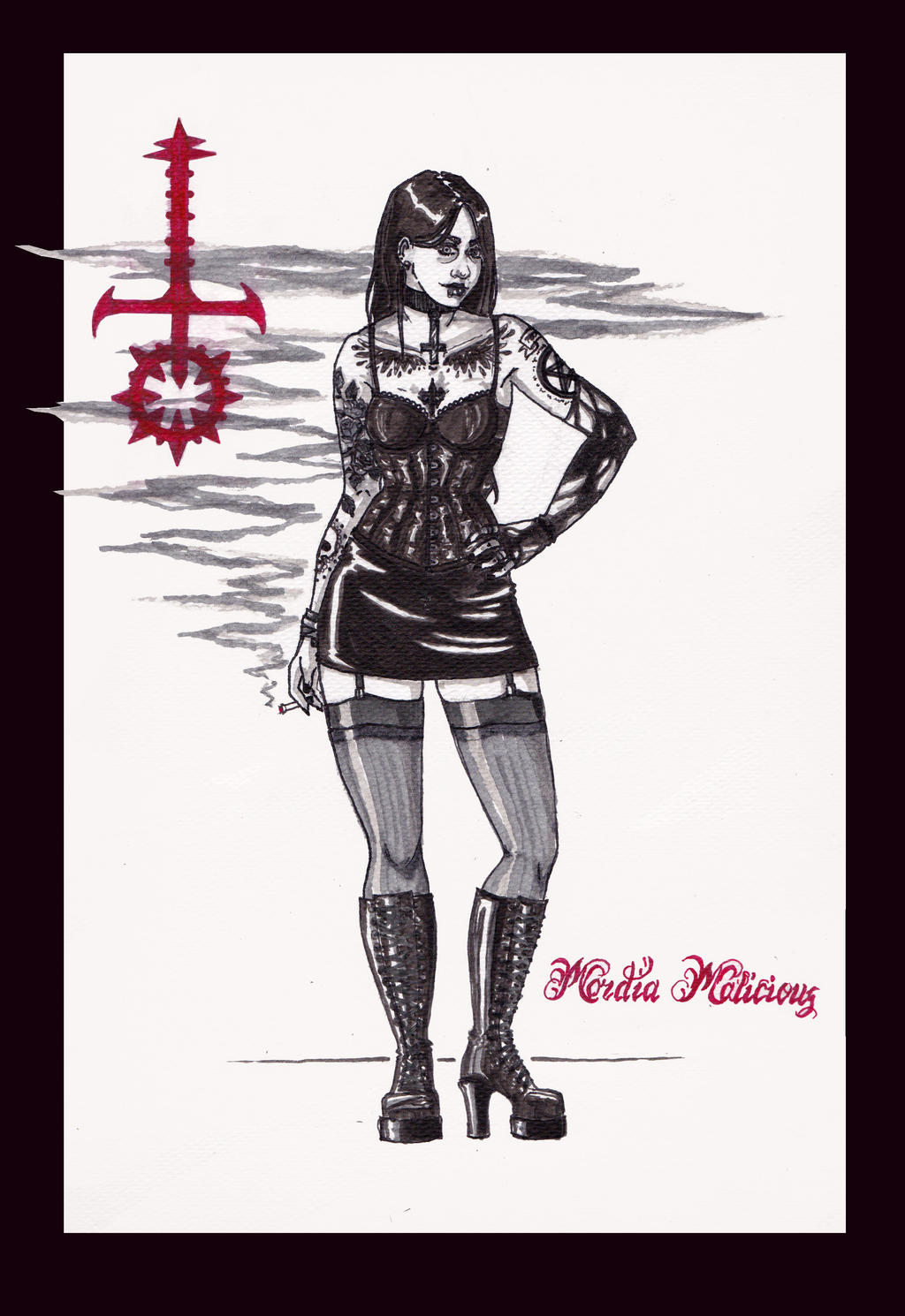 Mordia Malicious by Nirvanangel