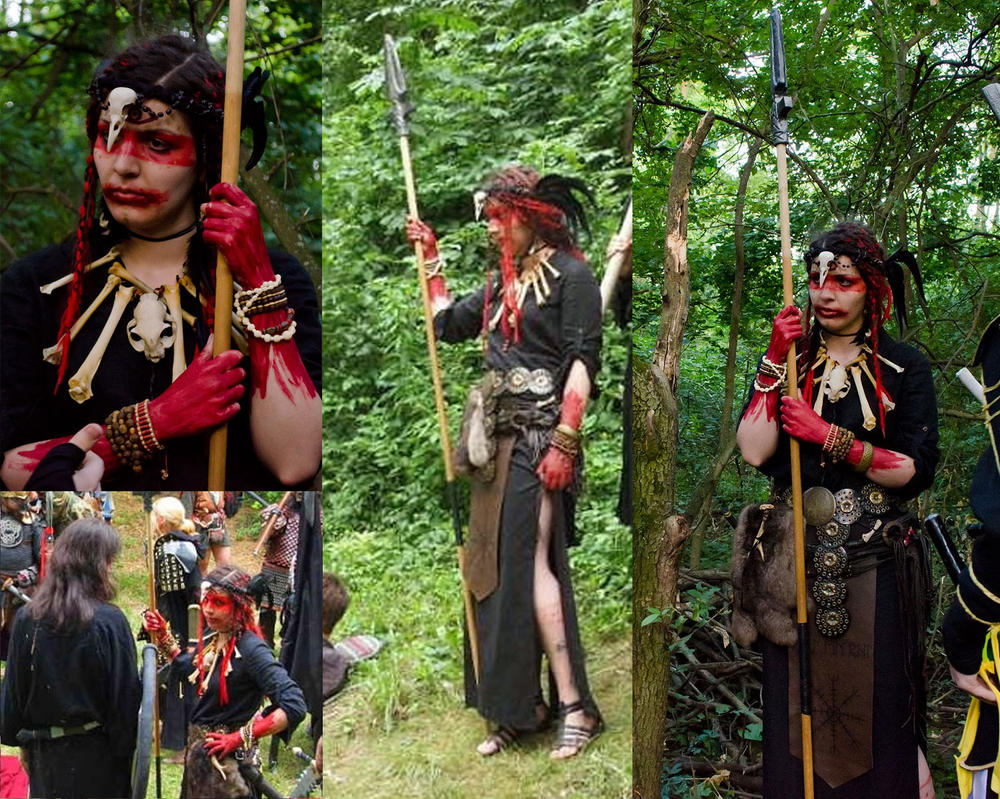 Saelrodda LARP Costume by Nirvanangel