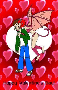 LanceXMori - Valentine's Day