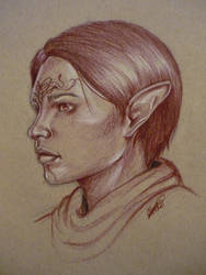 Inquisitor Espe Lavellan by ACD101