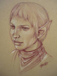 Dragon Age Inquisition, Sera by ACD101
