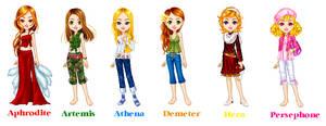 Greek Goddesses 1