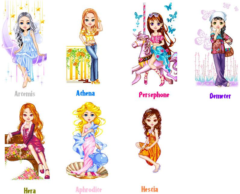 Greek Goddesses 2 By Linklover51193 On Deviantart