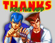 Riki and Kunio Thanks by misterzero