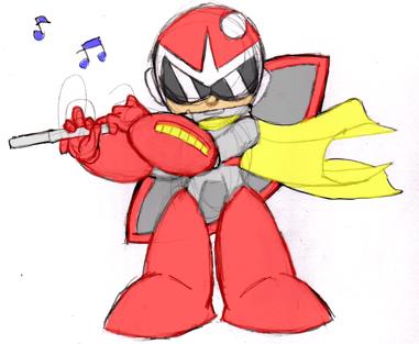Blues' Flute color by misterzero