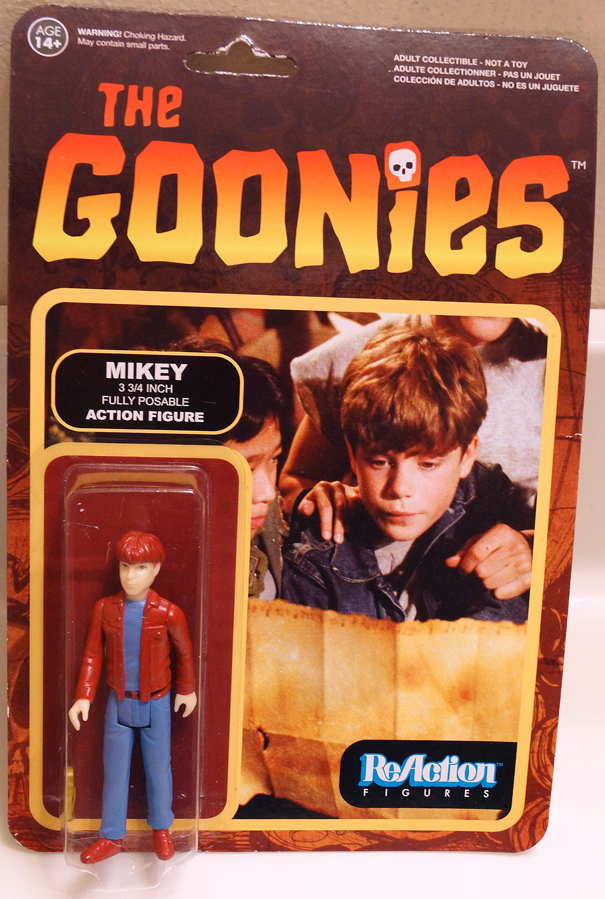Custom Funko ReAction Goonies NES Mikey by misterzero