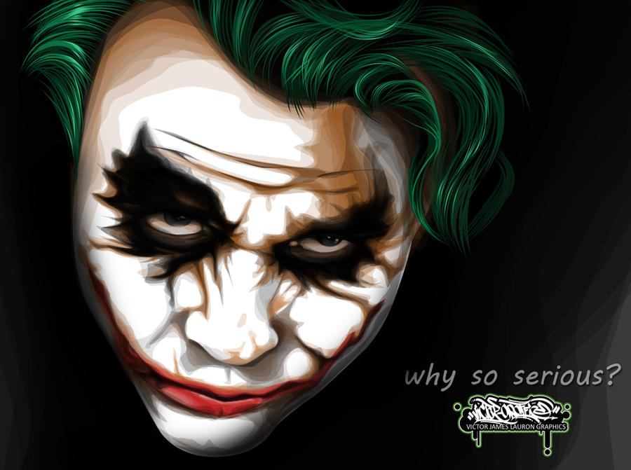 joker vexel art by biktor21