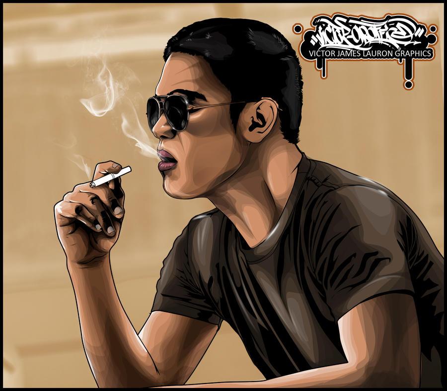 vexel art smoker by biktor21