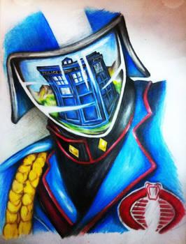 Cobra Commander And The TARDIS