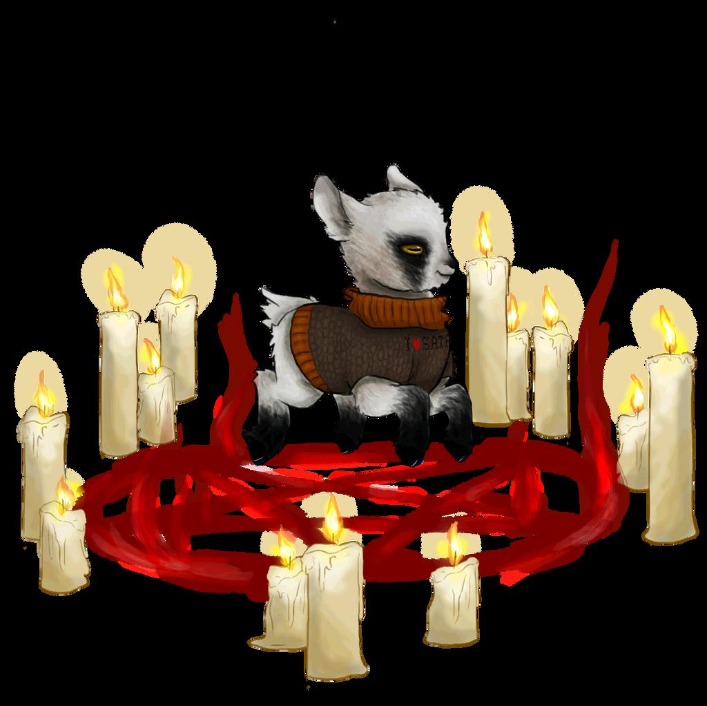 Summoning Satan by DementedPirate