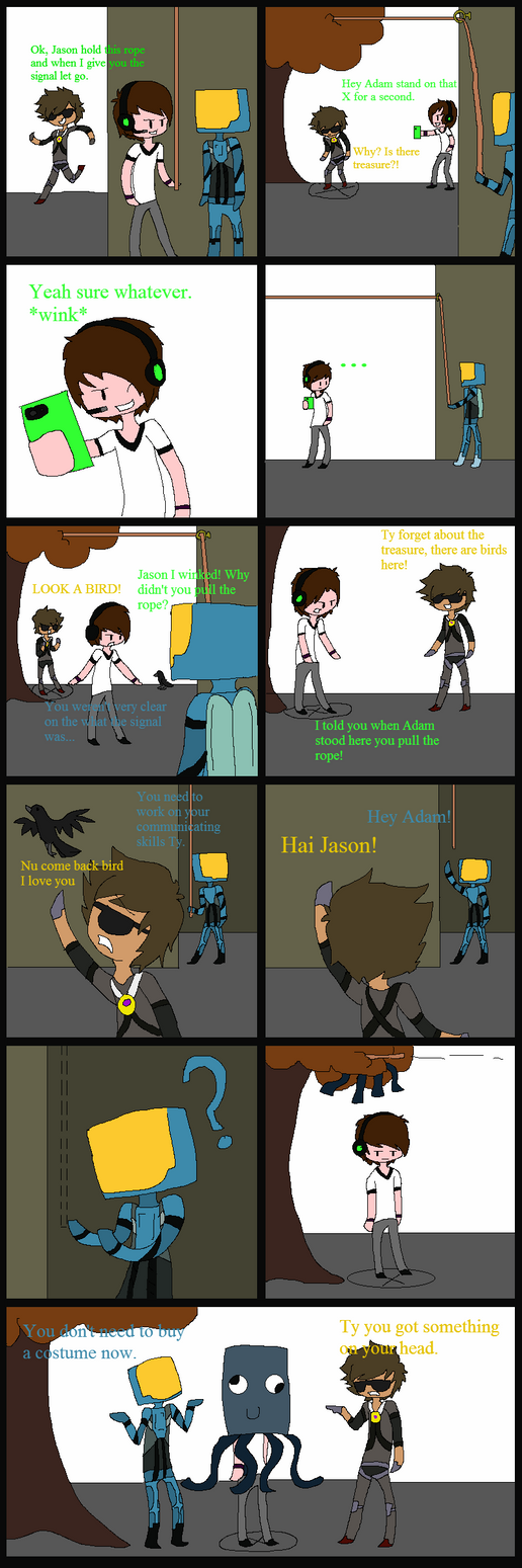 Late Halloween Comic by DopierToast15