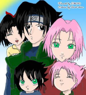 Happy Family colored version