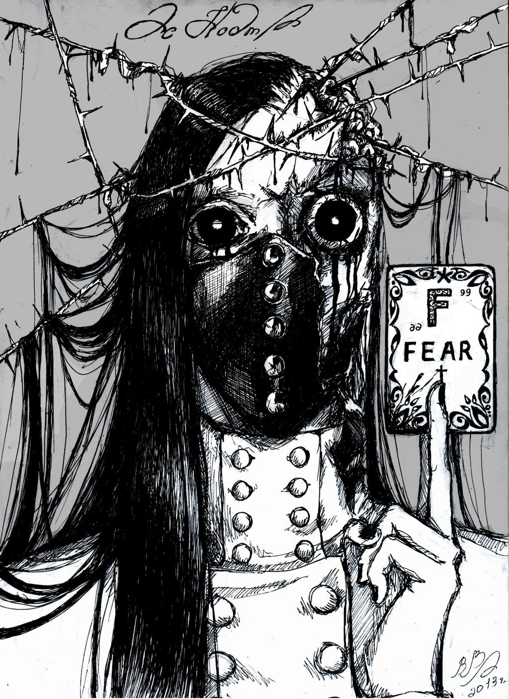 as nodt fear by dearamelai on deviantart