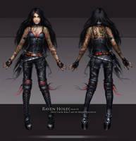 Kira Crow - skin02 by oione