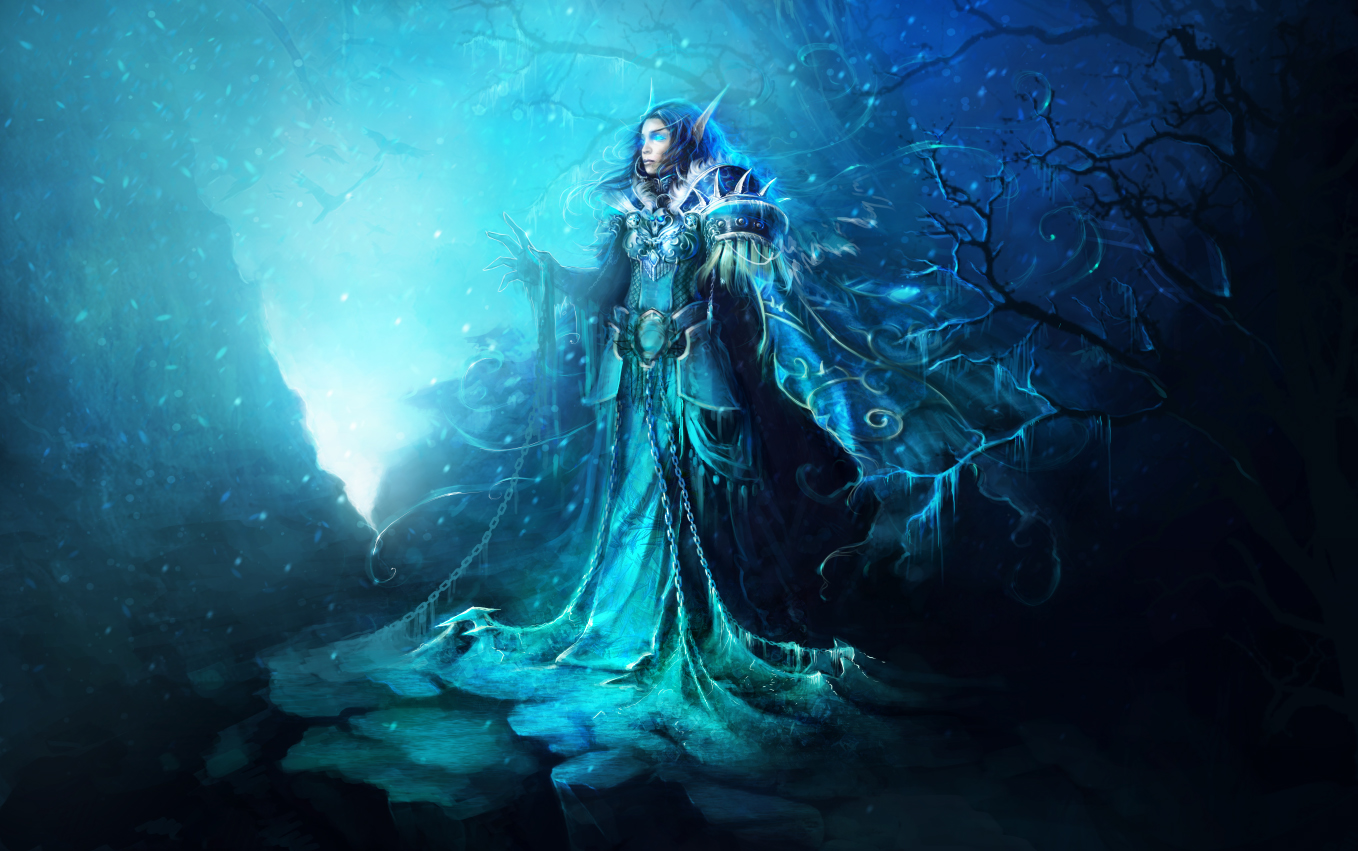 ice cold blue by oione on DeviantArt