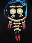 Trolls necklace + earrings set