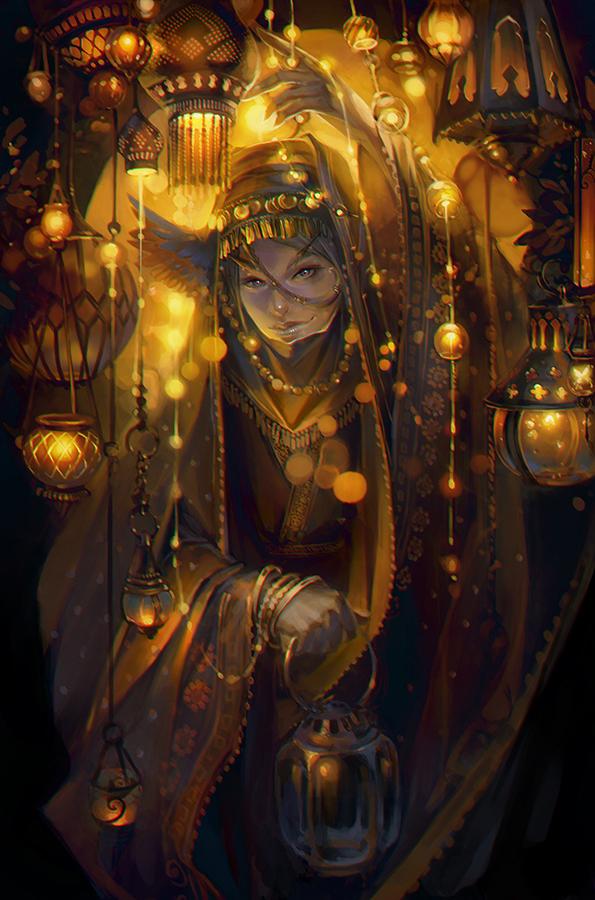 Lanterns by oione