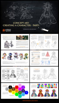 Preview - Character design - part 1