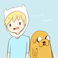 Friends Forever by Llamaorama