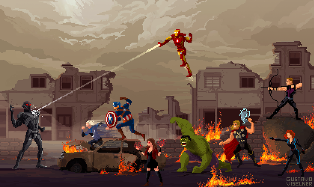 Avengers Age Of Ultron By Iloegbunam On Deviantart: Avengers: Age Of Ultron By Gviselner On DeviantArt