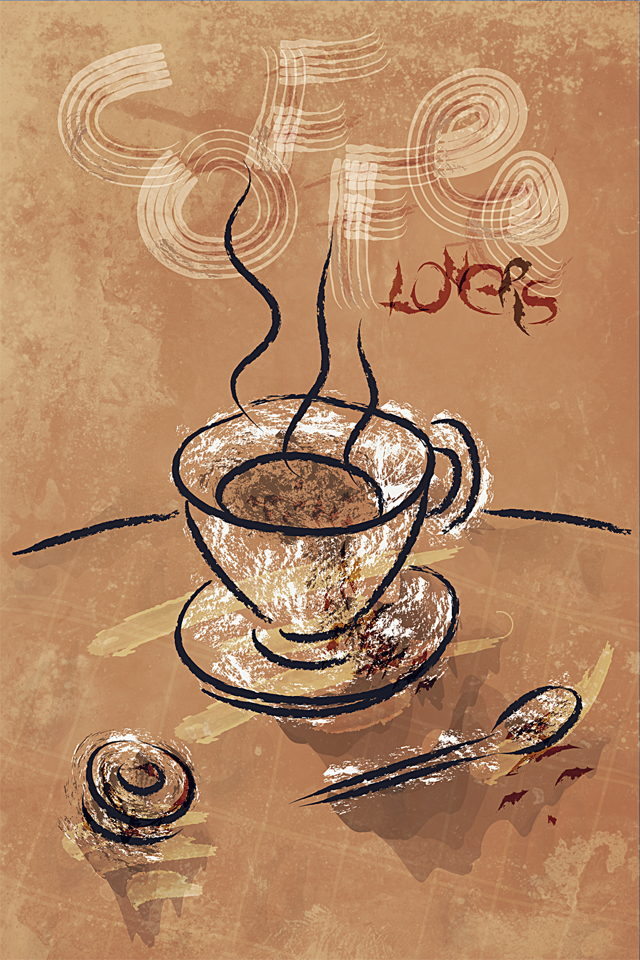 Love coffee Wallpapers For Iphone : coffee Lovers by pierofix on DeviantArt