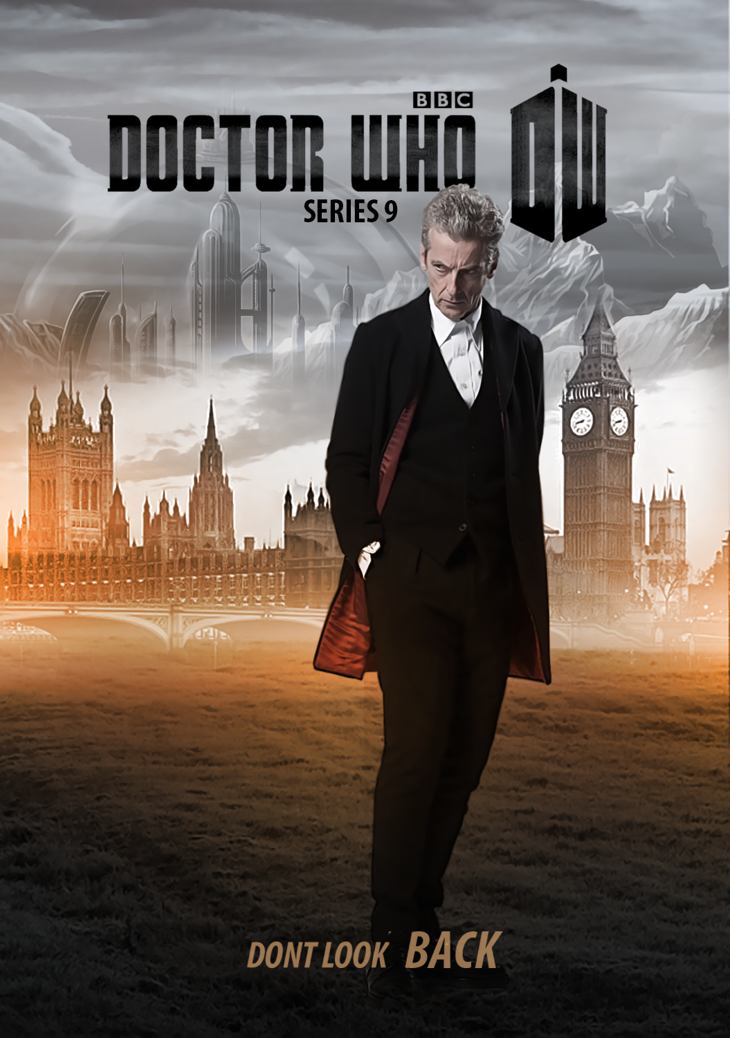 Doctor who series 9 poster by philpaint on deviantart