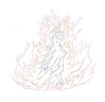 Phoenix-like bird initial by ryan3477