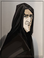 Severus Snape 1 by periwinkle-blue
