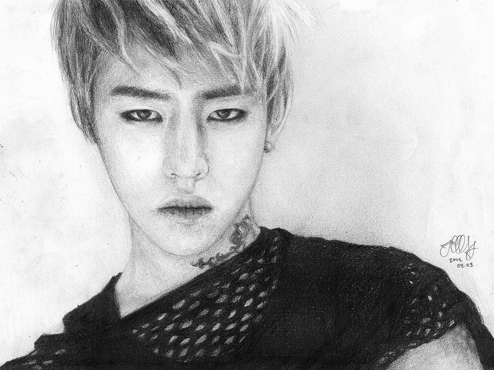 b.a.p daehyun by juliatu