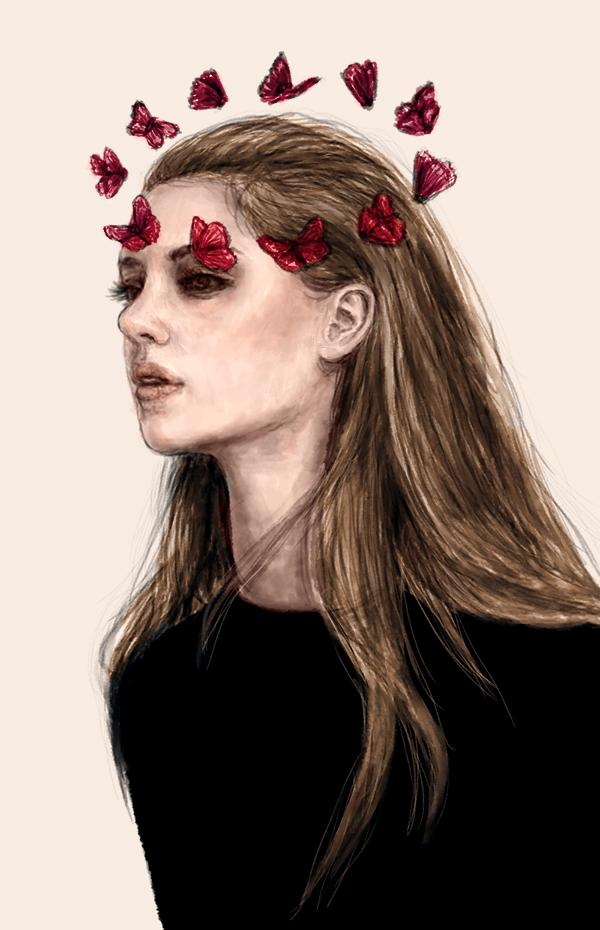 Butterfly Girl by juliatu