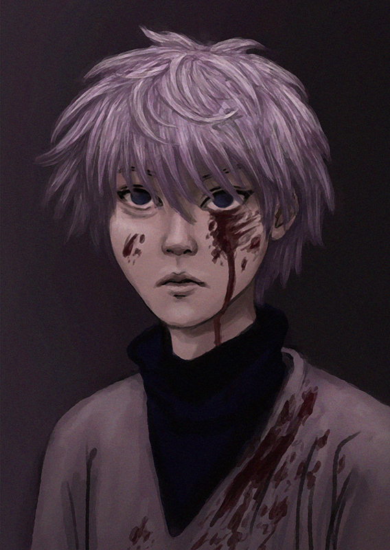 Killua Zoldyck by juliatu