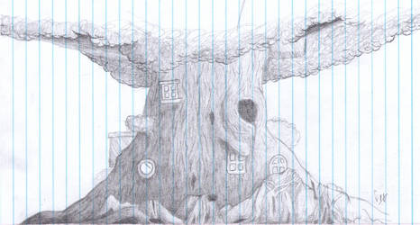 NotebookBig Tree