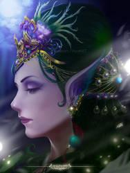 Elf Queen by ShuraKRGT