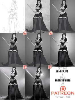 Step-by-Step Process for a Character
