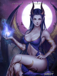 Queen of Night by ShuraKRGT