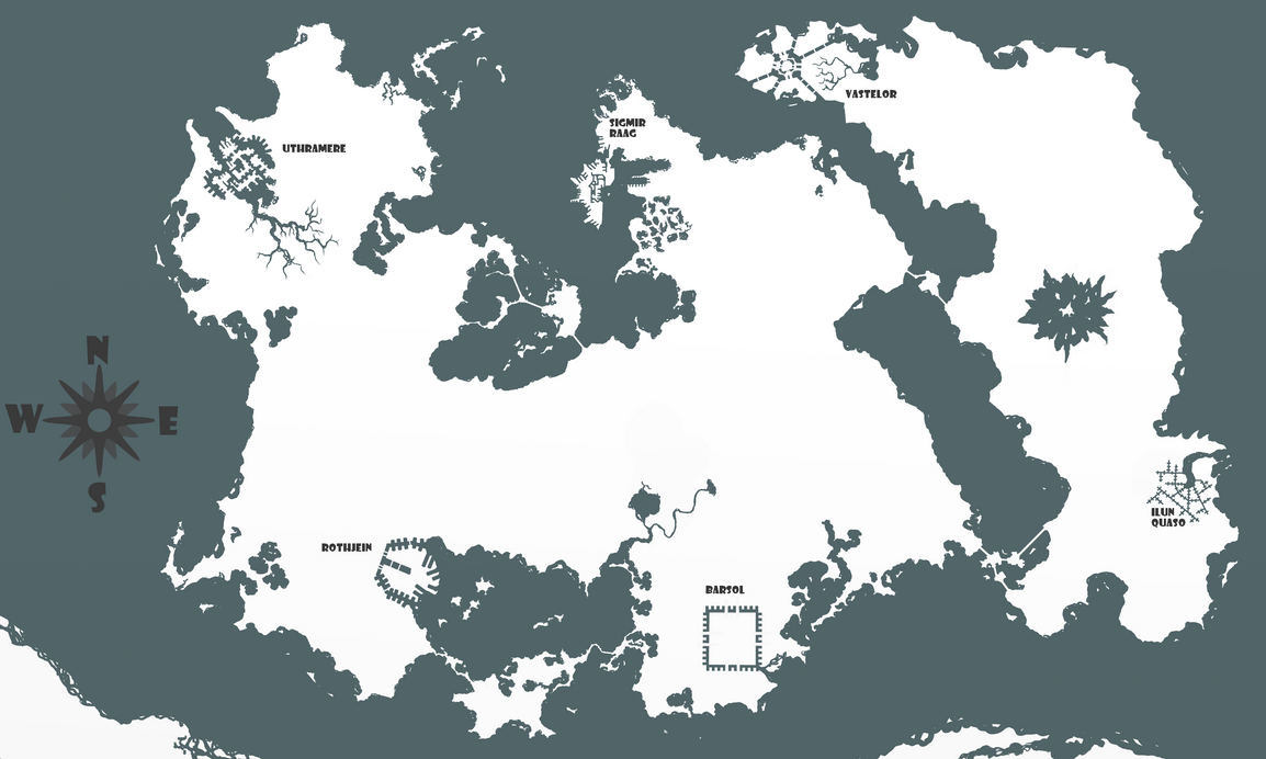 Fantasy world map by pullich on deviantart fantasy world map by pullich sciox Images