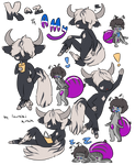 [CC] Kaz + Amy for stardust-penguin