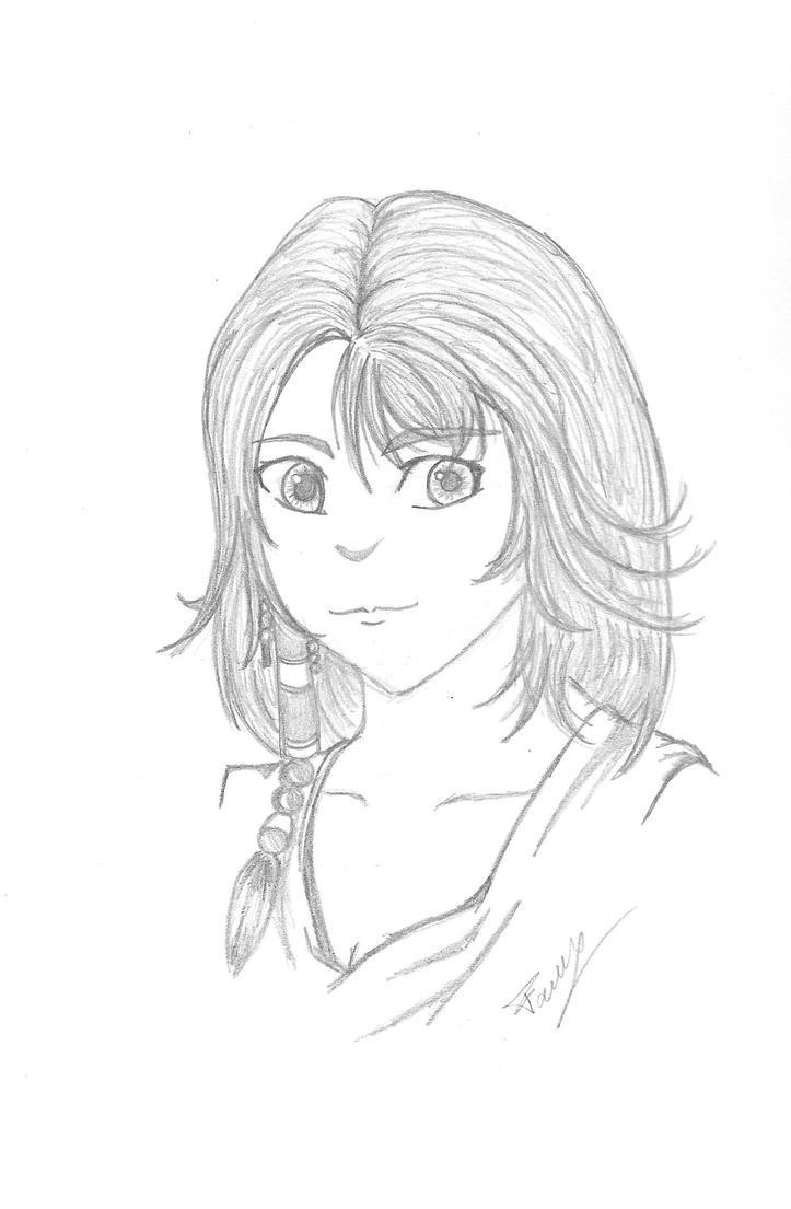 Yuna by NaffyOo