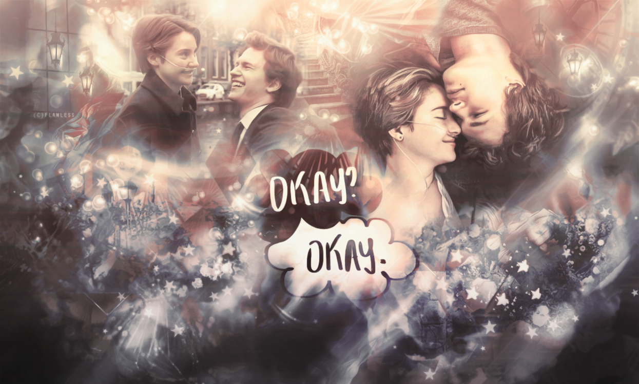 Wallpaper Fault In Our Stars By Flawlessgrafic On Deviantart