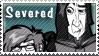 Severed stamp