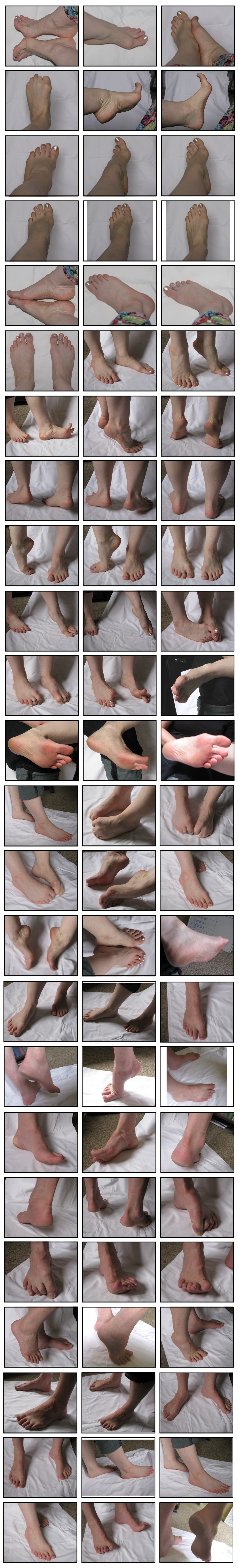 Foot Study Photo Reference by protowilson