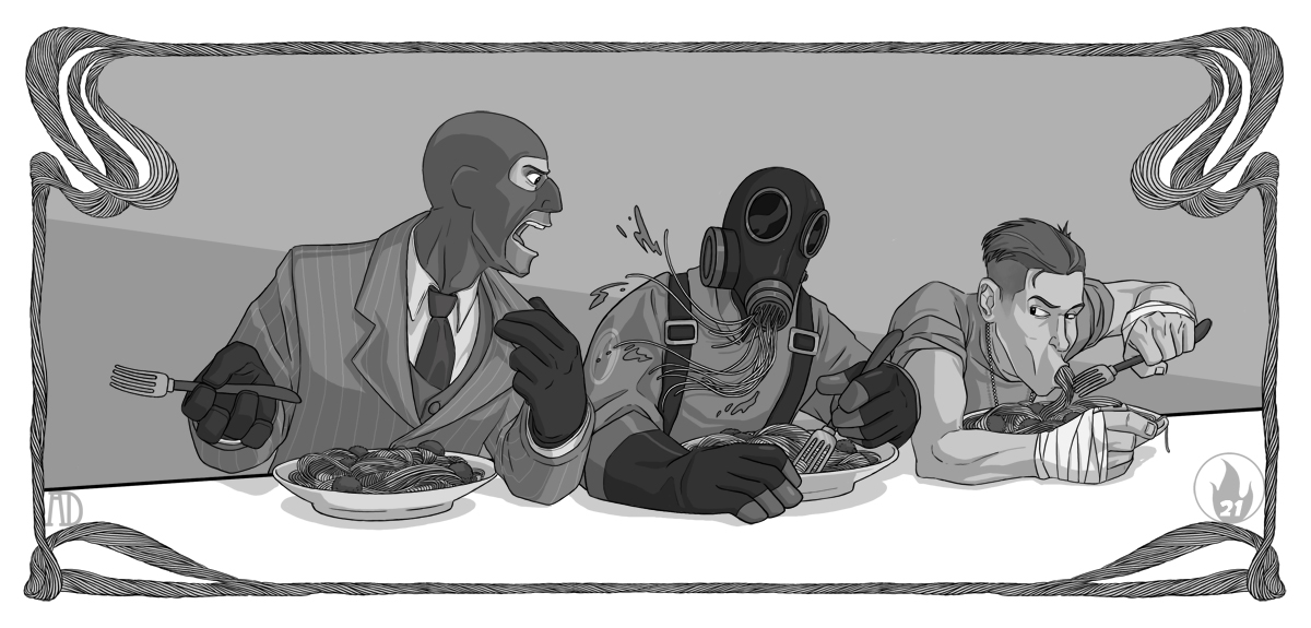 Spaghetti Night by protowilson