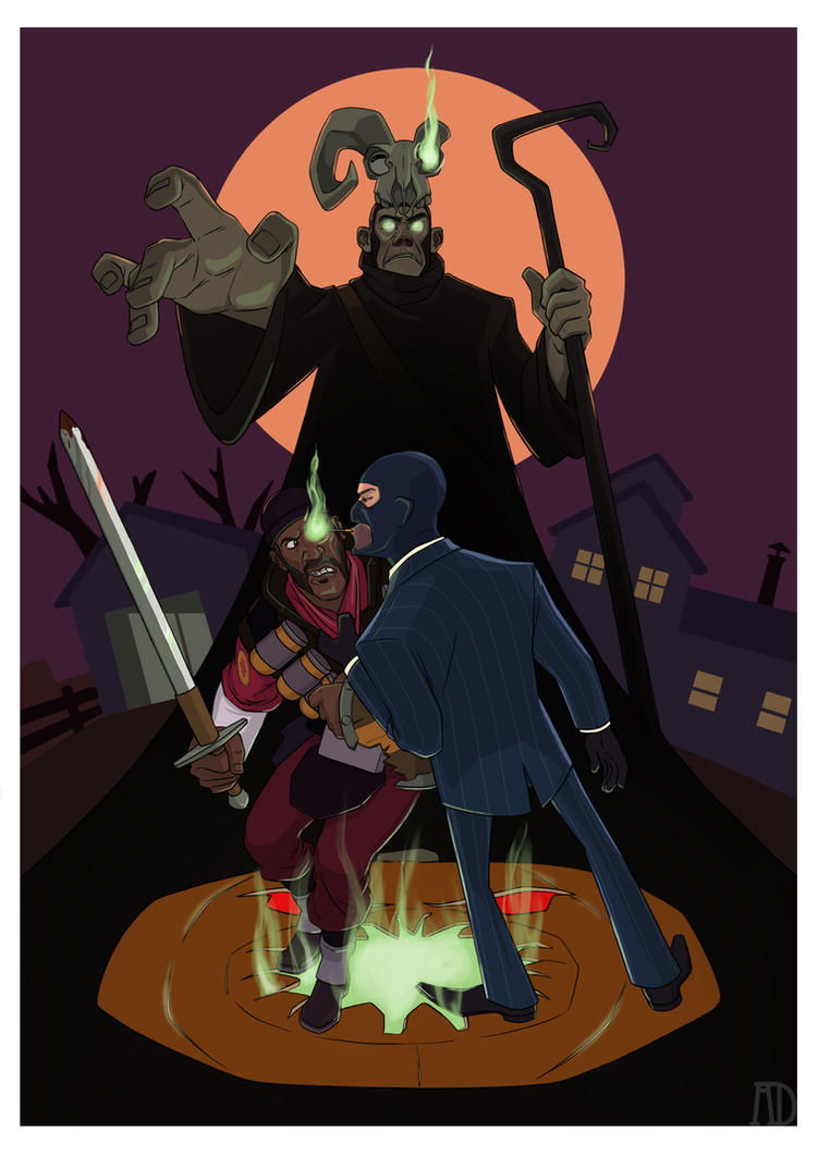 tf2 halloween wallpaper - photo #40