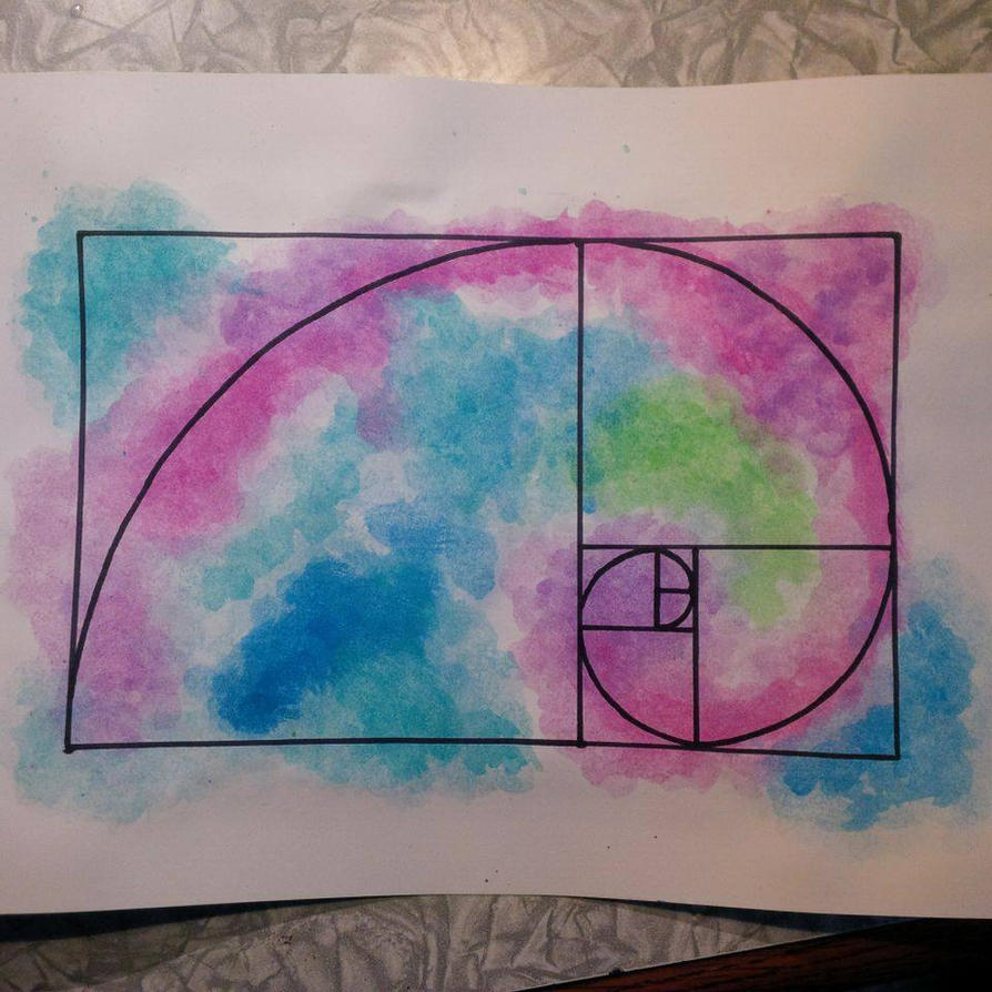 Fibonacci spiral by ShandrisCZ