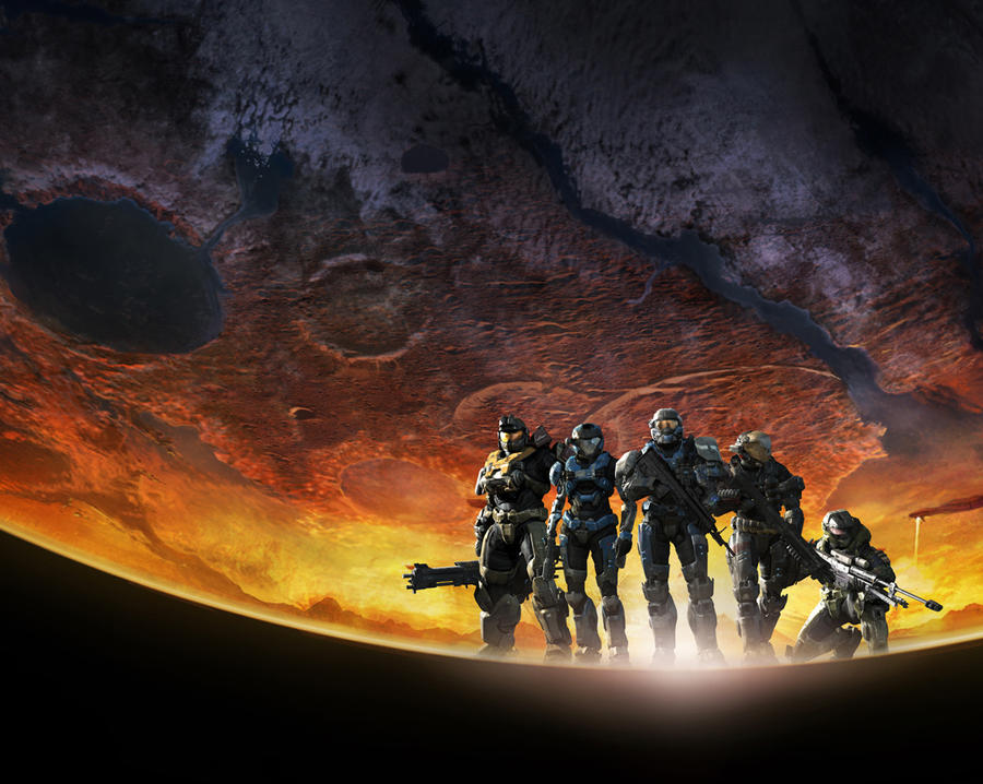 halo reach wallpaper helmet. Halo Reach Official Wallpaper
