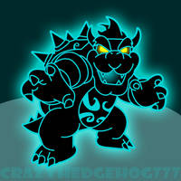 Phantom Bowser by crazyhedgehog777