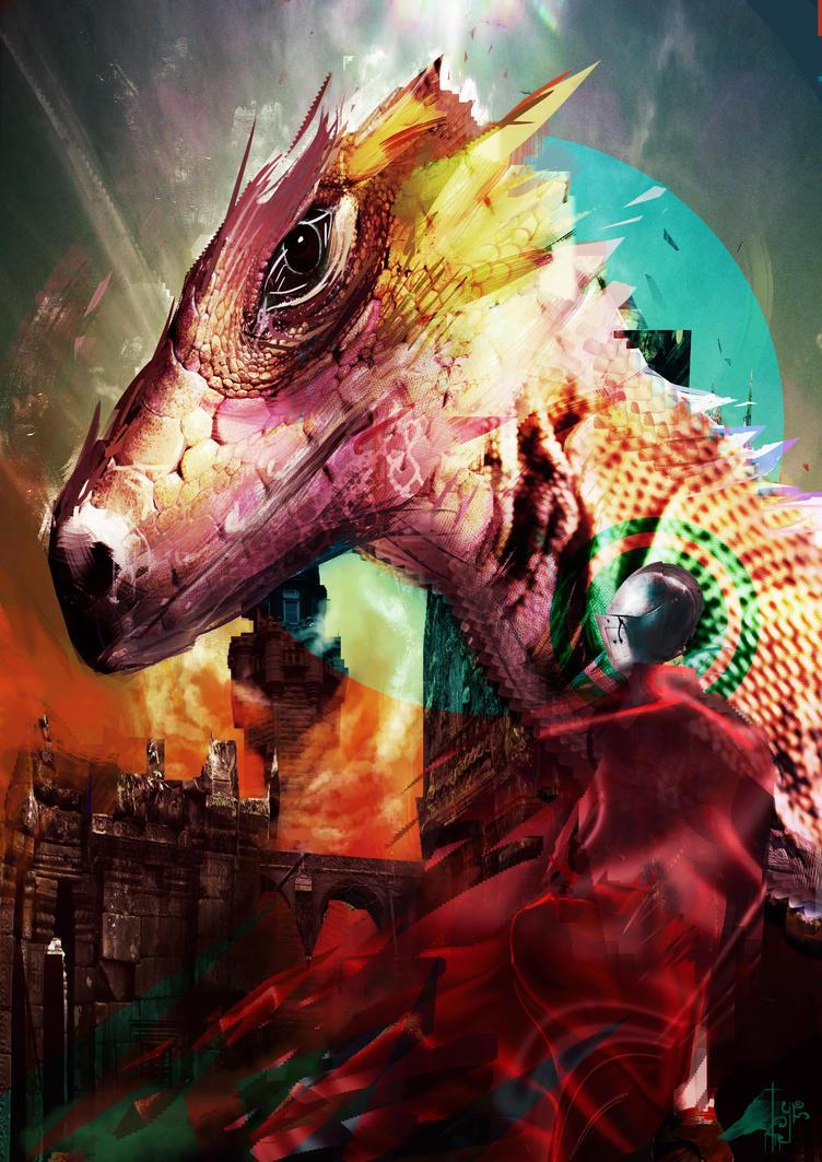 Dragon Watch by SoraXesArt