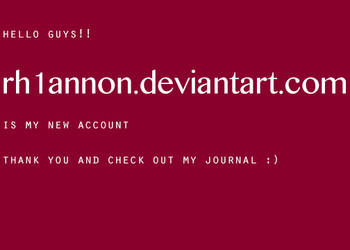 account change information