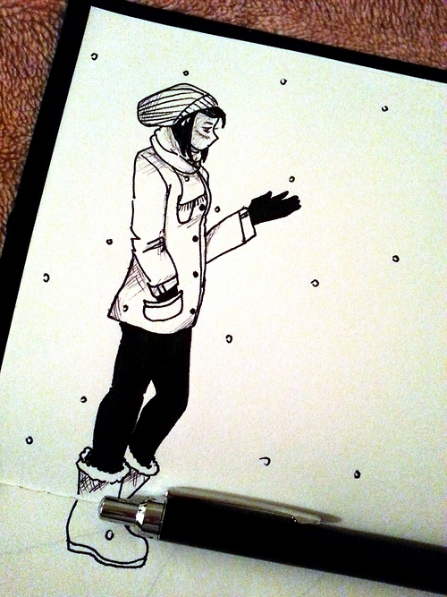 #InkTober Day 16 by Wandering-Lady